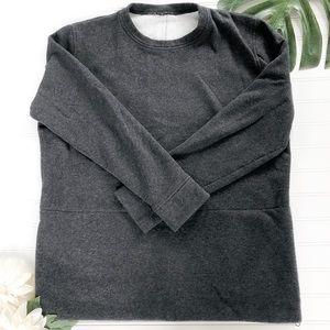 Lululemon Dual Side Zip Crew Neck sweatshirt
